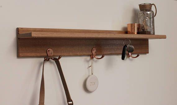 Entryway Organiser  Key Holder  Floating Shelf  Key Hooks