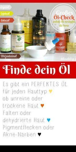 Arganöl, Jojobaöl, Kokosöl, Mandelöl oder Wildrosenöl? Finde das beste Gesichtsöl für deine Haut :)
