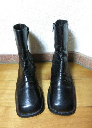 Kaufe meinen Artikel bei #Kleiderkreisel http://www.kleiderkreisel.de/damenschuhe/stiefeletten/139048723-london-style-leder-stiefelette-ankle-boots-chelsea-375-38-boots-schwarz