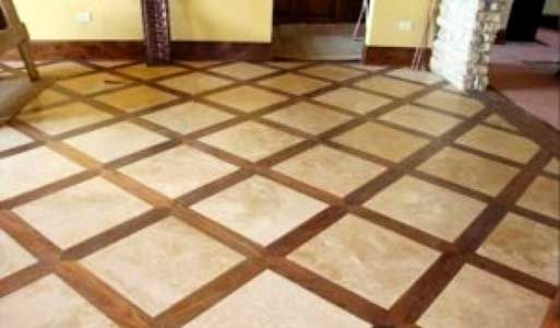 Tile And Hardwood Floor Combinations Cr Floors Rockwall