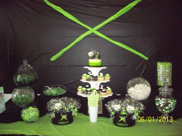 XBOX Parties Candy Buffet