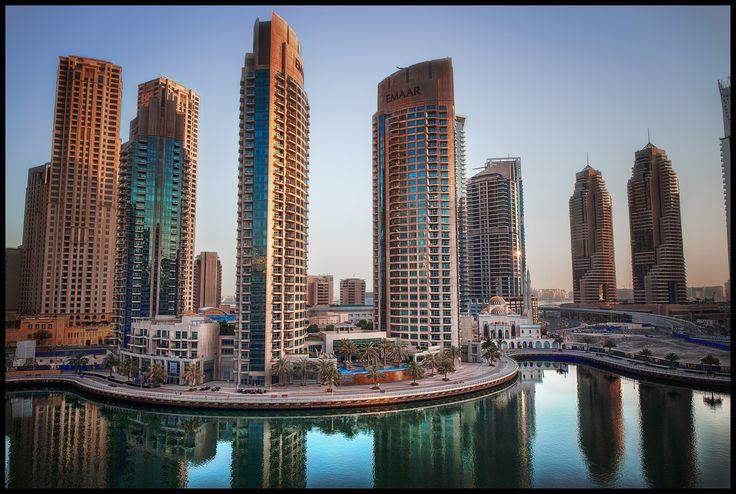 Dubai Marina sunrise - null