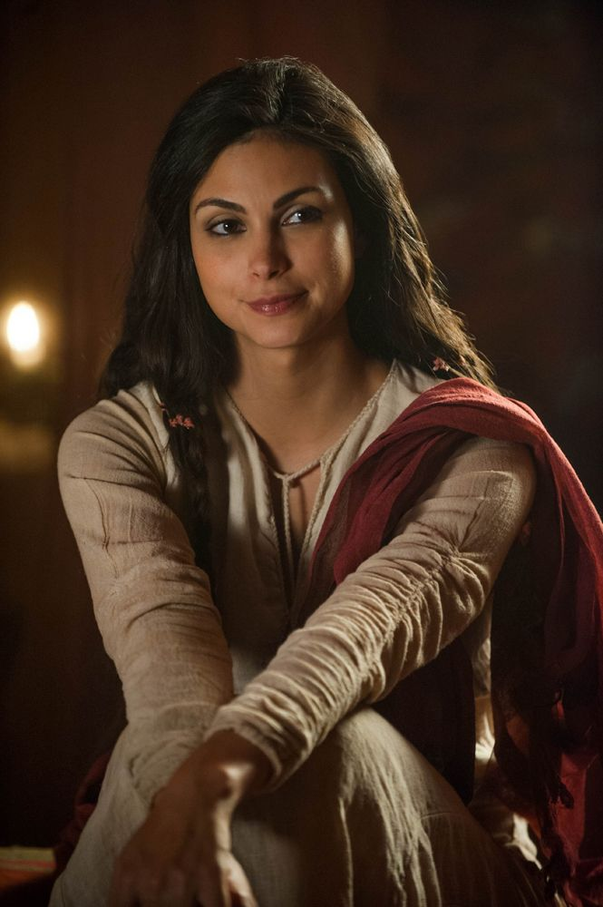 Morena Baccarin in The Red Tent, 2014.  Lifetime Channel.