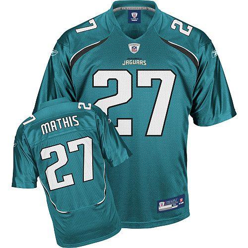 Reebok Jacksonville Jaguars Rashean Mathis 27 Green Authentic Jerseys Sale