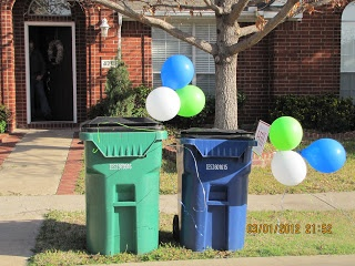 Cute idea for A Garbage Truck Birthday Party!