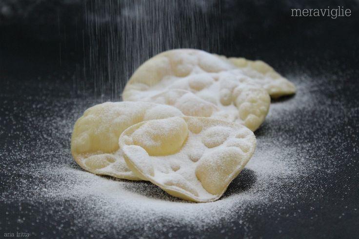 meraviglie mai nome fu più adatto per un dolce la ricetta è presa dal libro non solo zucchero 2 del maestro Iginio Massari