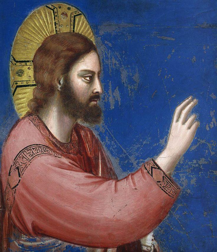 Scenes from the Life of Jesus Christ: Raising of Lazarus (detail) / Resurrección de Lázaro (detalle) // 1304-1306 // Giotto di Bondone // Fresco / Cappella Scrovegni (Arena Chapel), Padua