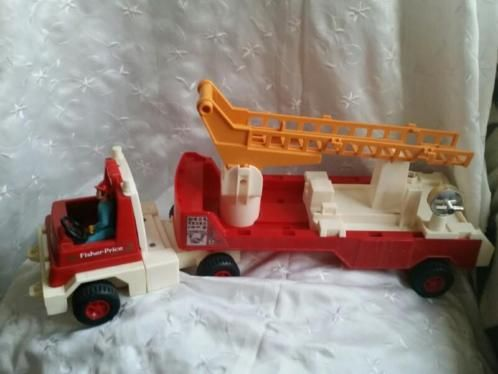 Fisher Price Firetruck  #319 Vintage 1978. .
