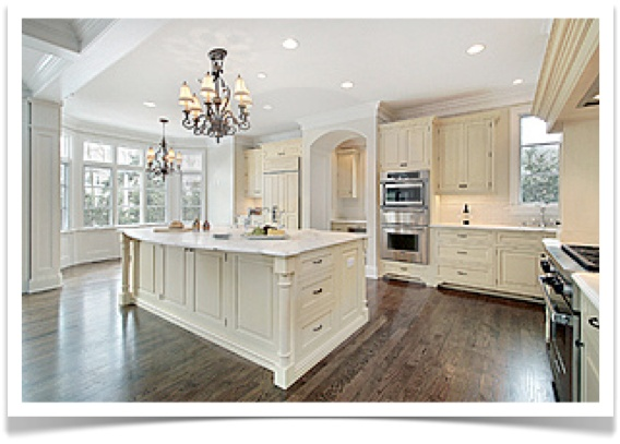 Photos Of White Kitchens With Islands