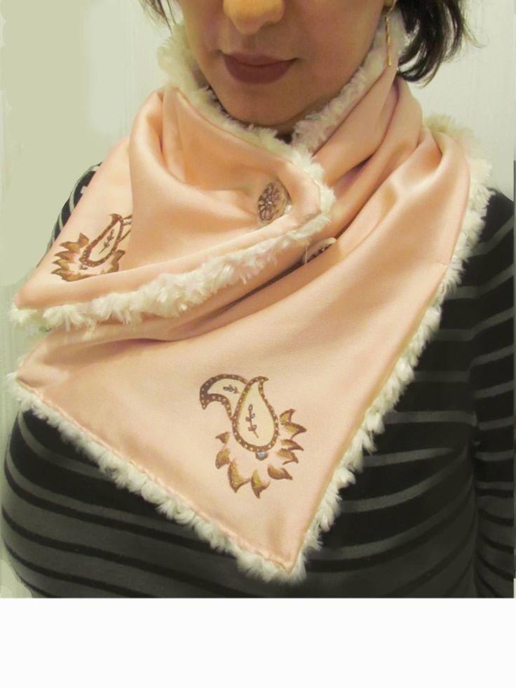 Handmade Shawl,Burgendy Shawl,Gold Rose Shawl,Navy Blue shawl, warm Scarf, Winter Scarf,Warm Shawl, Shawl and Wrap, Outrwear, Gift for women by TermeArtDesign on Etsy