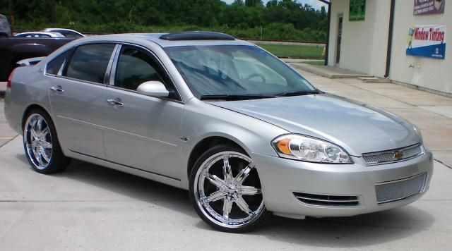 "07 Impala SS Rims | 2009 Chevrolet Impala ""UPHOLSTERY LIMITED"" - Baton Rouge, LA owned by ..."