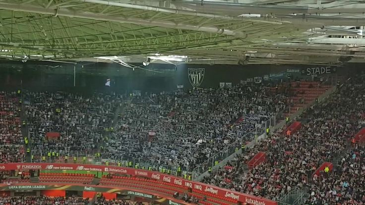EL: Athletic Bilbao - Hertha Berlin. [Hertha fans] 2017-11-23
