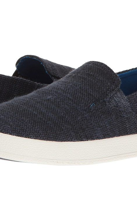 TOMS Kids Avalon Slip-On (Little Kid/Big Kid) (Navy Slubby Linen) Kids Shoes - TOMS Kids, Avalon Slip-On (Little Kid/Big Kid), 10007497-660, Footwear Closed Slip on Casual, Slip on Casual, Closed Footwear, Footwear, Shoes, Gift - Outfit Ideas And Street Style 2017