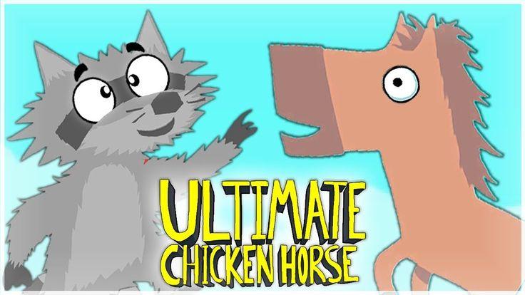 ВЕРНУЛИСЬ В УГАРНУЮ ИГРУ!! СНОВА ИГРАЕМ В ULTIMATE CHICKEN HORSE!!! #7