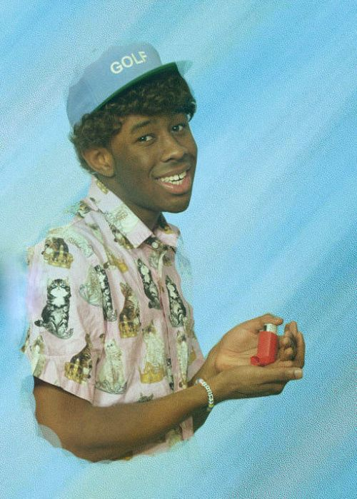 Community Post: Tyler, The Creator Is Wearing The Greatest Cat Shirt Of All Time