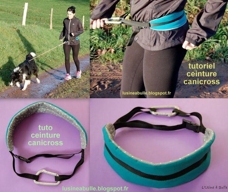 Voilà une idée géniale, la ceinture canicross vous permet de courir ou de vous promener avec votre chien tout en étant libre de vos mouvements et de toujours avoir votre chien en sécurité à vos côtés. Tutoriel ceinture canicross
