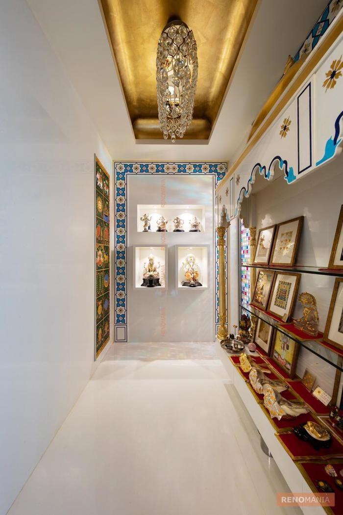 11 Best Pooja Unit Images On Pinterest: 104 Best Hindu Prayer Room And Alter Design Images On