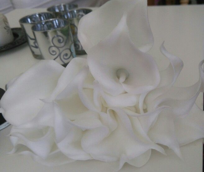 Lillys as decoration. Made out of latex.