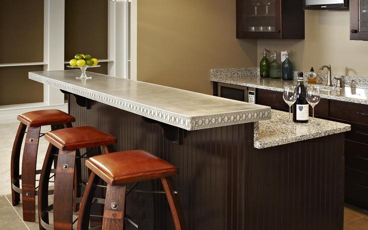 Zinc countertops Kitchens Pinterest