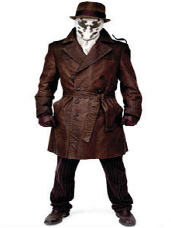 Watchmen Rorschach Trench Costume Coat | Top Celebs Jackets