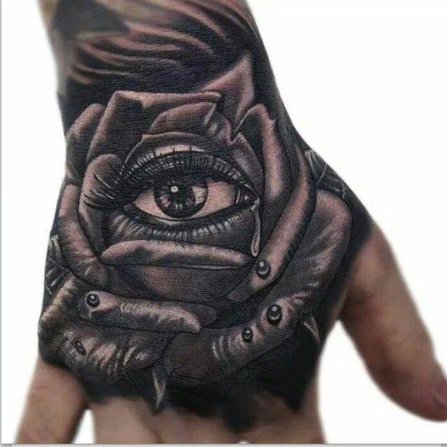 Phatt german tattoos pinterest eyes grey and realism tattoo - Tattoo rose noir ...