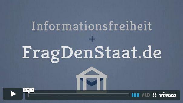 Video FragDenStaat.de on Vimeo