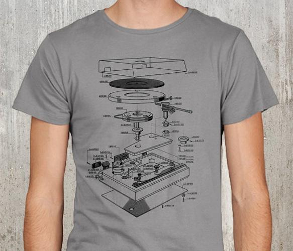 vinyl turntable tee crawlspace studios - T Shirt Design Ideas Pinterest