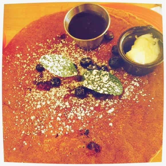 Goooood one!!!! - Fruit pancake@Mymy Coffee Shop via www.dish.fm