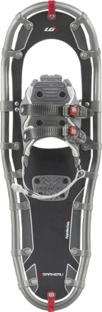 Louis Garneau Appalaches 1036 snowshoes deliver proven sturdiness and reliability with a conventional easy-to-use buckle system so you can get out there and explore in the snow.