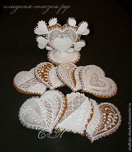 Купить Свадебные пряники - свадебный пряник, свадебные пряники, пряники, пряники ручной работы