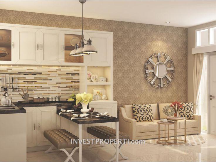Design interior rumah Parkville Serpong