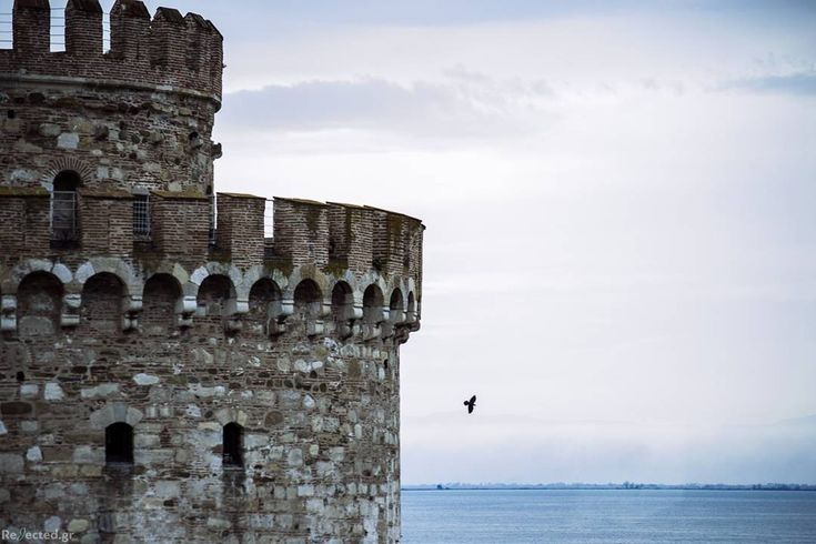 #rejected_gr #skg #sky #thessaloniki #greece #greecestagram #instapic #instagood #instadaily #photooftheday #picoftheday #whitetower #white  #tower