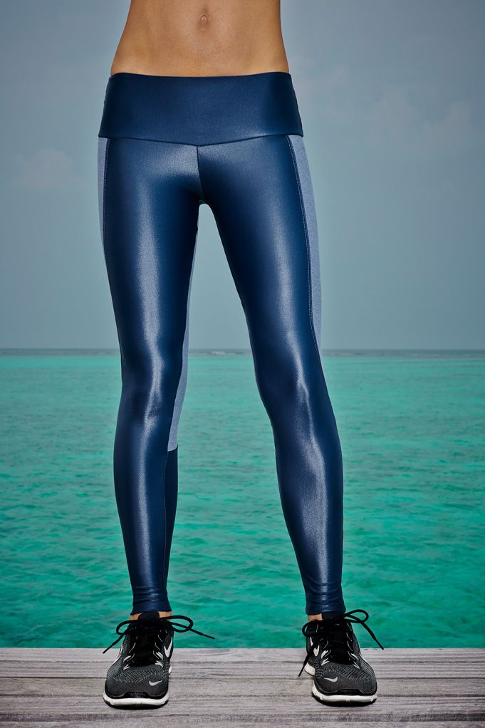 I Am Shiny  Slim-fit leggings that feel like second skin in our shiny material flatter your legs and look great before, during and after a workout. Thanks to the high-tech, fluid design, not only are they are lightweight, breathable and quick-drying, they also sculpt and contour the body for maximum stability and support.  Available now, £95.00 at http://www.bodyism.com/product/i-am-shiny-legging-ss15-grey/