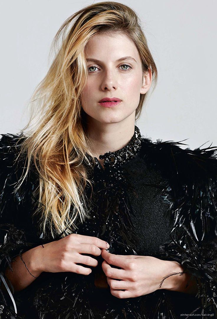 Melanie Laurent by Eric Guillemain -that blonde color is beautiful