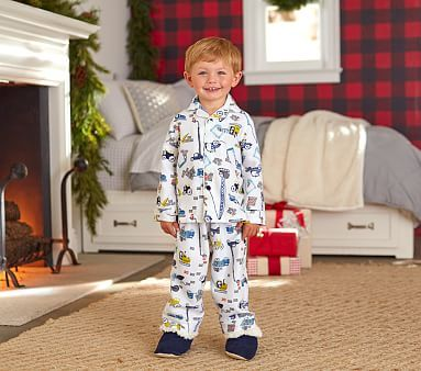 Construction Flannel Pajama #pbkids