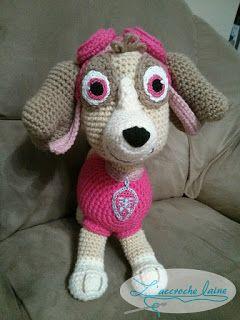 L'accroche laine: Stella (Pat'Patrouille)