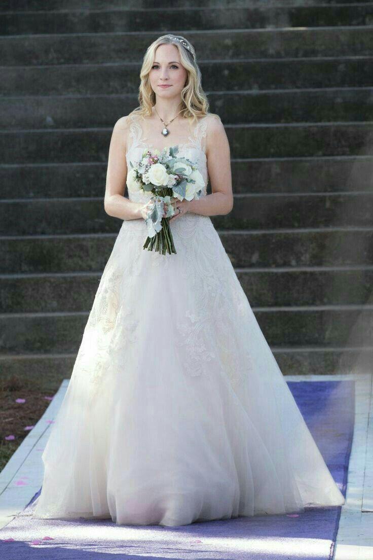 Pin By Sandhaya Sarin On Vampires Diaries Vampire Wedding Candice Accola Wedding Wedding Dresses Photos