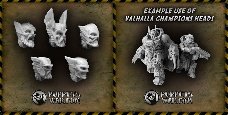 Straight outta #Asgard https://puppetswar.eu/product.php?id_product=533  #Valhalla #heads #parts #viking #game #fun #puppetswar #bits #hobby #miniature #wargame