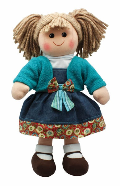 Rag Doll - Boneca de Pano - Muñeca de Trapos