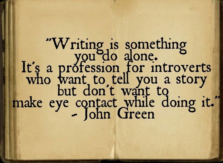 Writing club quote
