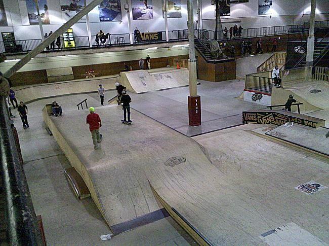 best indoor skatepark in the world - Google Search