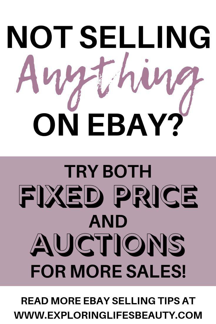 Fixed Price Vs Auction Style Selling On Ebay Ideas Of Buying A Condo Condobuying Buyingcondo Need More Ebay S Ebay Selling Tips Selling On Ebay Ebay