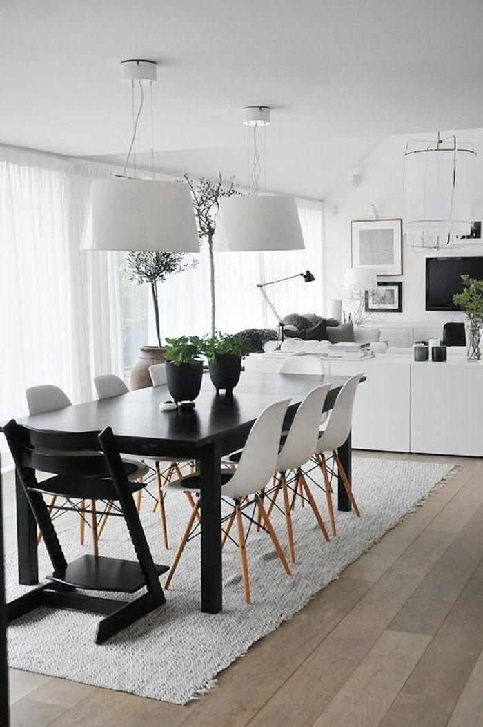 table rectangulaire 8 personnes table de salle a manger design