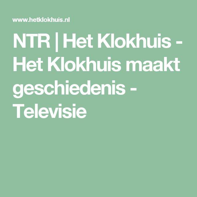 NTR | Het Klokhuis - Het Klokhuis maakt geschiedenis - Televisie