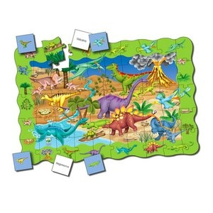 The Learning Journey Puzzle Doubles Find It! Dinosaurs
