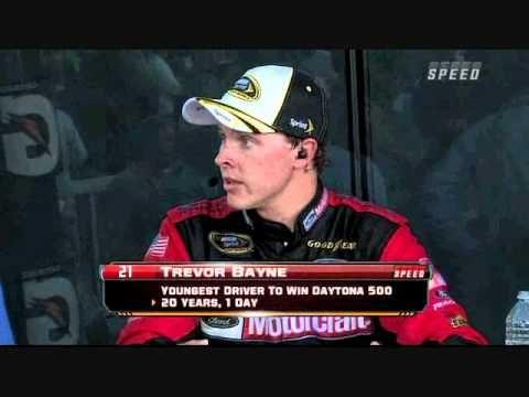 SPEED Victory Lane: Trevor Bayne - 2011 Daytona 500