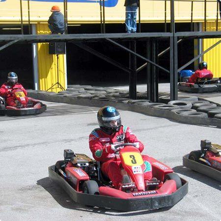 outdoor go karting centre in tallinn #stagdo #tallinn