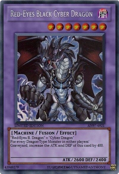 Red-Eyes Black Cyber Dragon | Yu-Gi-Oh! Series | Pinterest ...