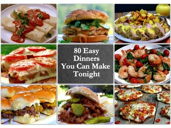 17 best images about quick and easy dinner ideas on for Easy things to make for dinner for two