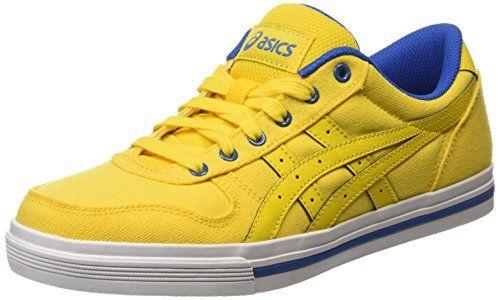 ASICS Aaron, Unisex-Erwachsene Sneakers, Gelb (light Yellow/light Yellow 0303), 41.5 EU - http://uhr.haus/asics/41-5-eu-asics-aaron-sneaker-h6g4n-8502-36-6